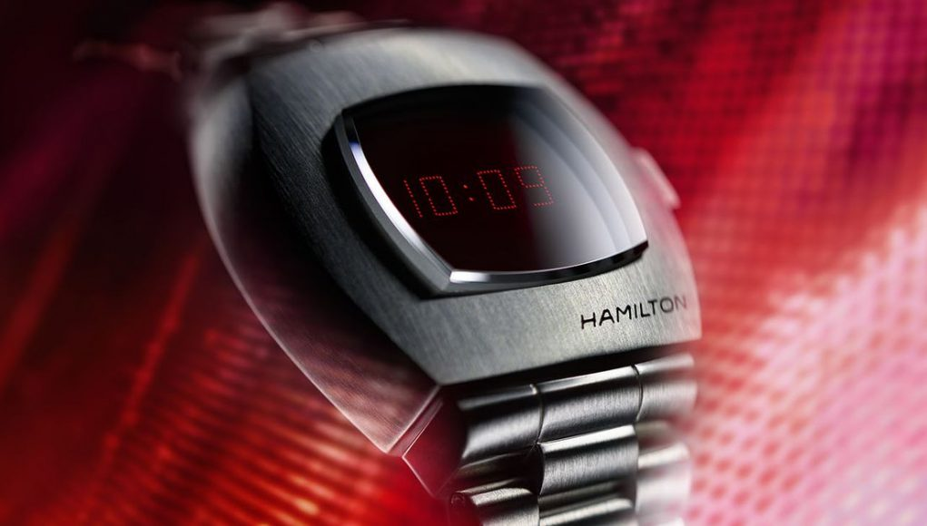 Hamilton is bringing back the original digital wristwatch with an OLED twist