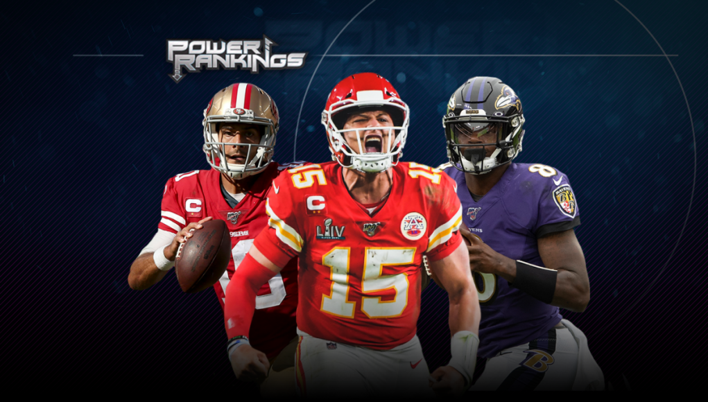 NFL Power Rankings: Top four teams remain same, Packers drop after doing Aaron Rodgers no favors in offseason