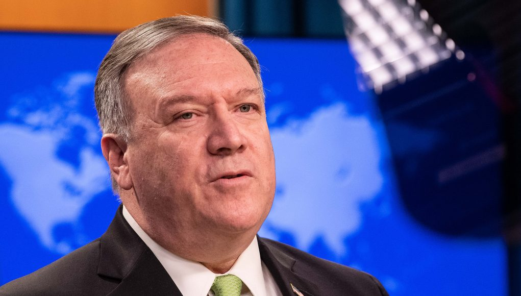 Pompeo declares that Hong Kong is no longer autonomous from China, threatening trade with U.S.