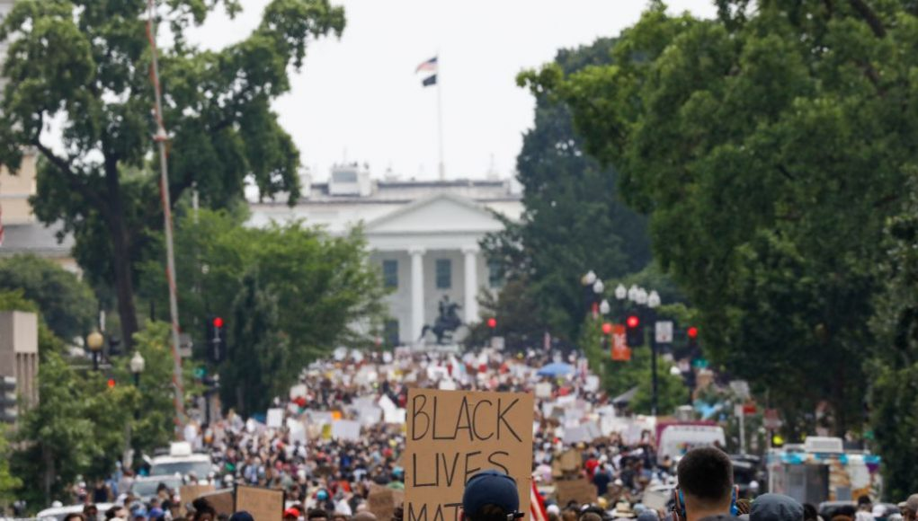"""D.C. Mayor Chides Donald Trump At Largest Protest Since Death Of George Floyd: """"We Pushed The Army Away From Our City"""""""