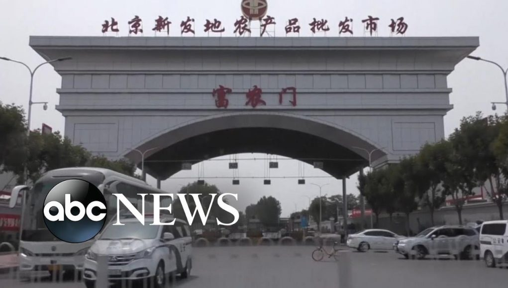 Beijing marketplace infections trigger 'wartime emergency mode'