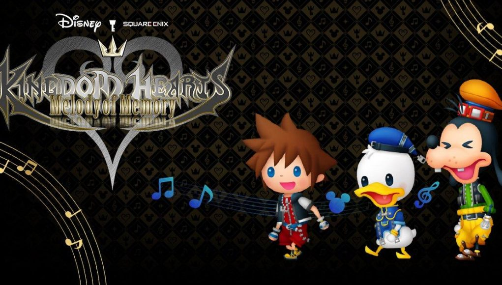 Kingdom Hearts Melody of Memory English website launches; new information and images available