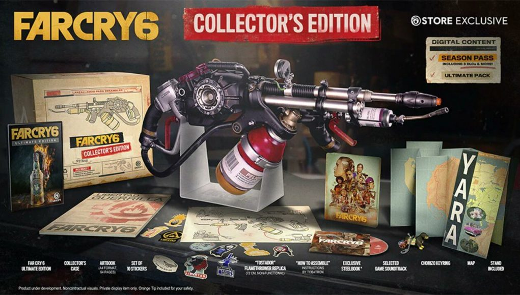 Of Course the Far Cry 6 Collector's Edition Comes with a Flamethrower