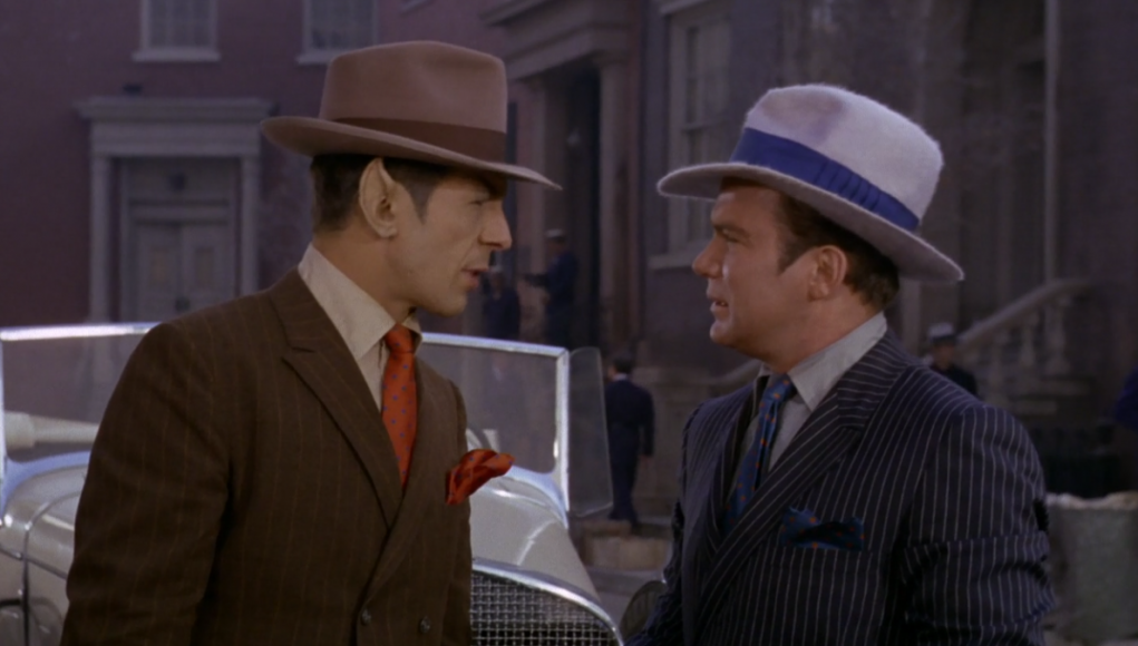 Of course Quentin Tarantino's Star Trek was based on the old-timey gangster one