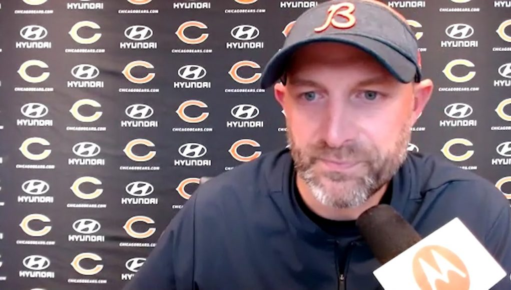 Chicago Bears head coach Matt Nagy will name winner of QB competition between Mitchell Trubisky, Nick Foles next week